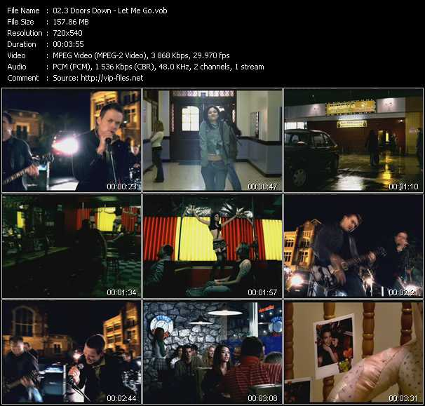 3 Doors Down video screenshot