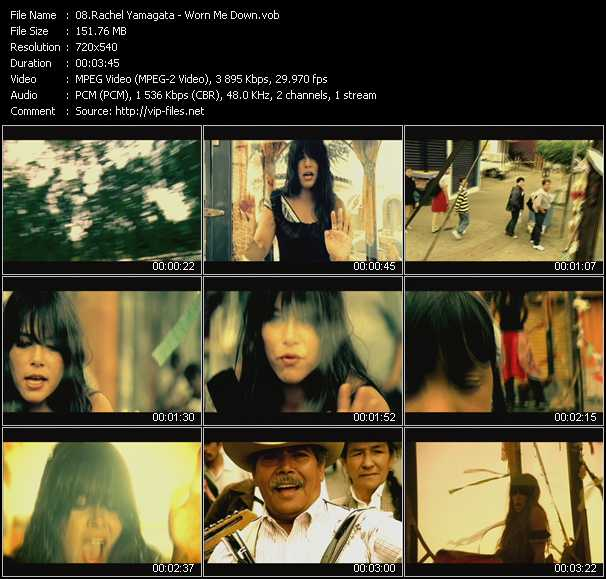 Rachel Yamagata video screenshot