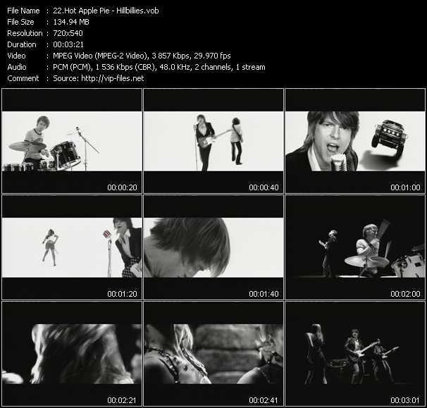 Hot Apple Pie video screenshot