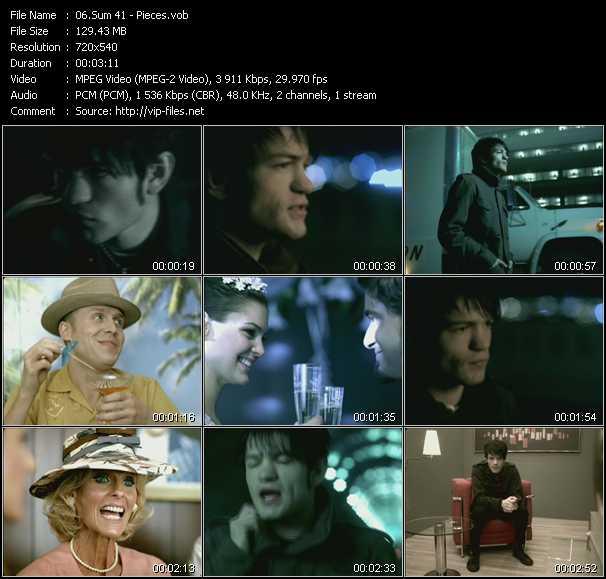 Sum 41 video screenshot