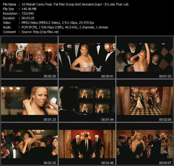 Mariah Carey Feat. Fat Man Scoop And Jermaine Dupri video screenshot