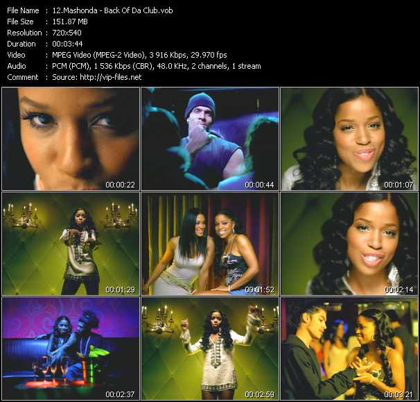 Mashonda video screenshot