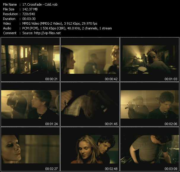Crossfade video screenshot