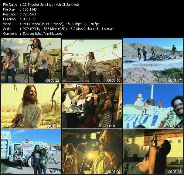 Shooter Jennings video screenshot