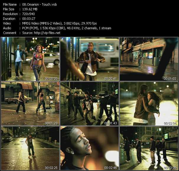 Omarion video screenshot