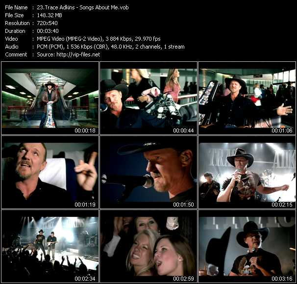 Trace Adkins video screenshot