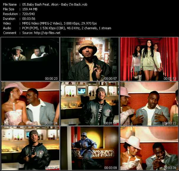 Baby Bash Feat. Akon video screenshot