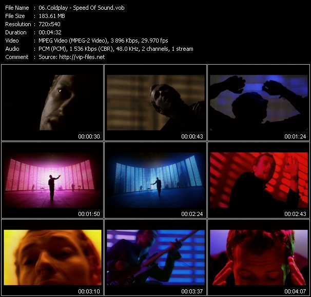 video Speed Of Sound screen