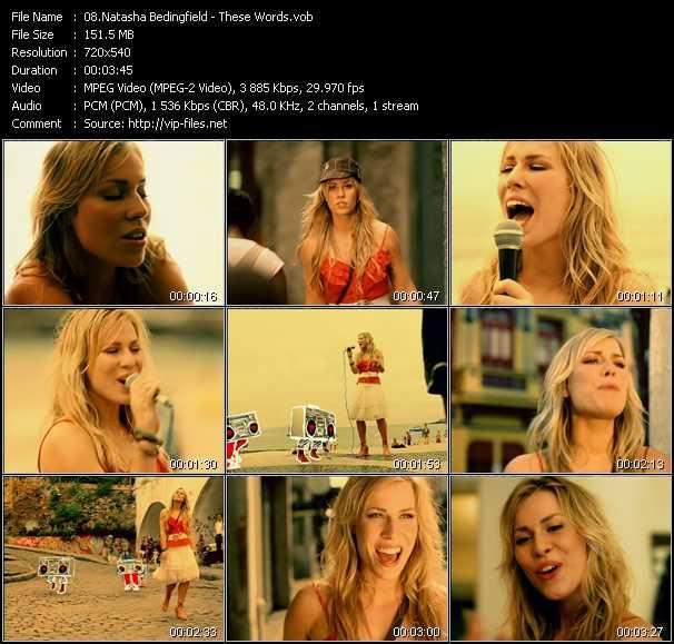 Natasha Bedingfield video screenshot