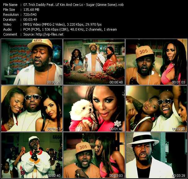 Trick Daddy Feat. Lil' Kim And Cee Lo Green video screenshot