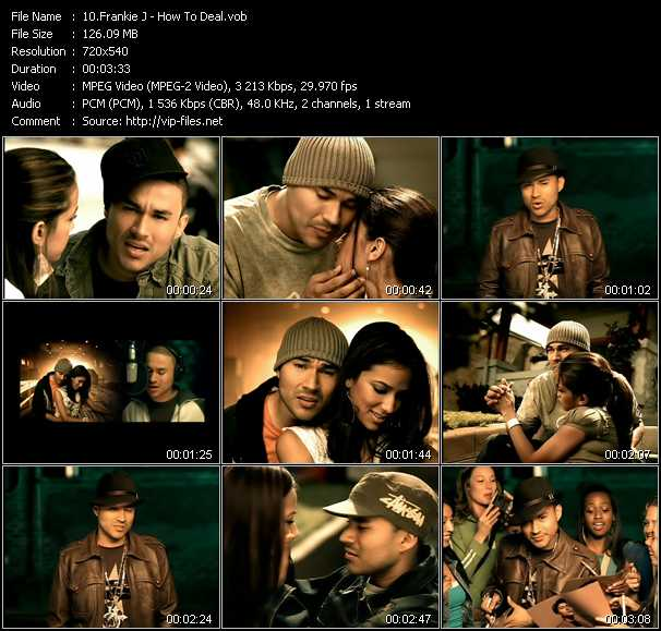 Frankie J video screenshot