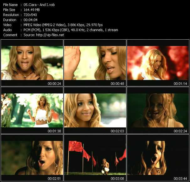 Ciara video screenshot