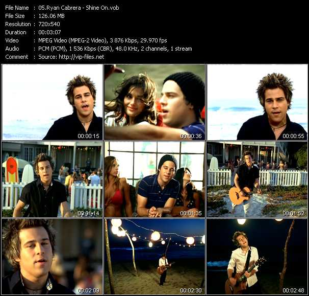 Ryan Cabrera video screenshot