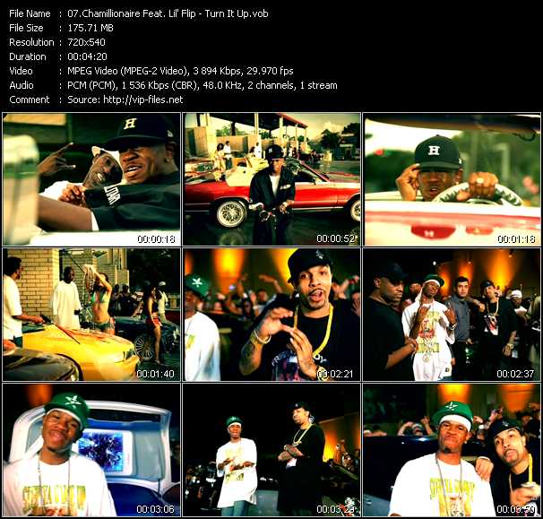 Chamillionaire Feat. Lil' Flip video screenshot