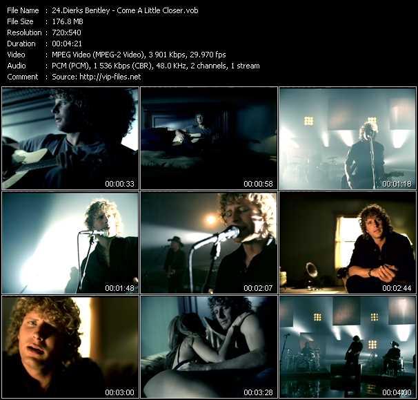 Dierks Bentley video screenshot