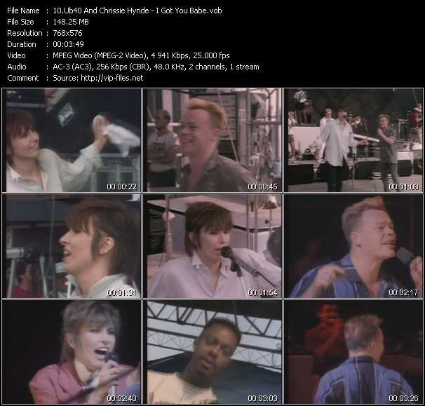 Ub40 And Chrissie Hynde video screenshot