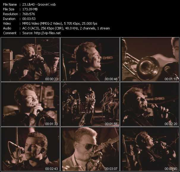 Ub40 video screenshot