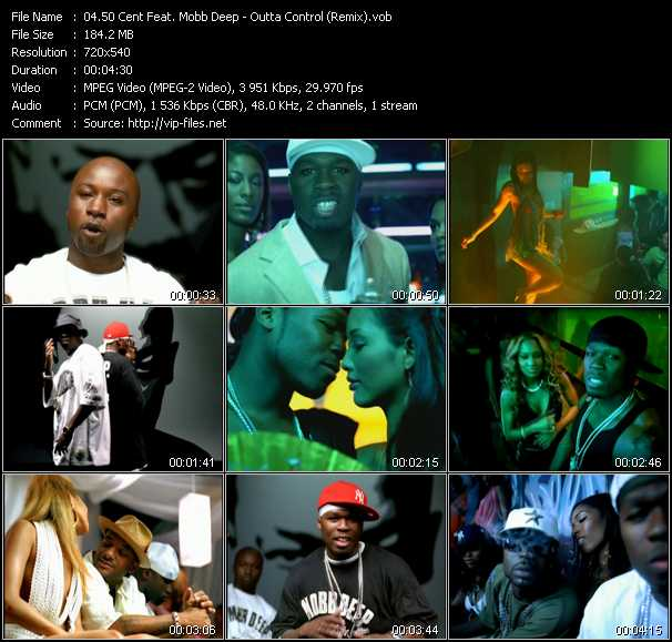 50 Cent Feat. Mobb Deep video screenshot