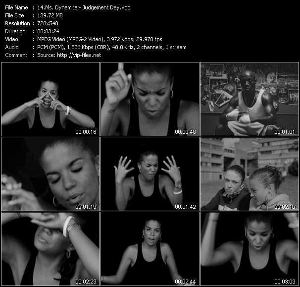 Ms. Dynamite video screenshot