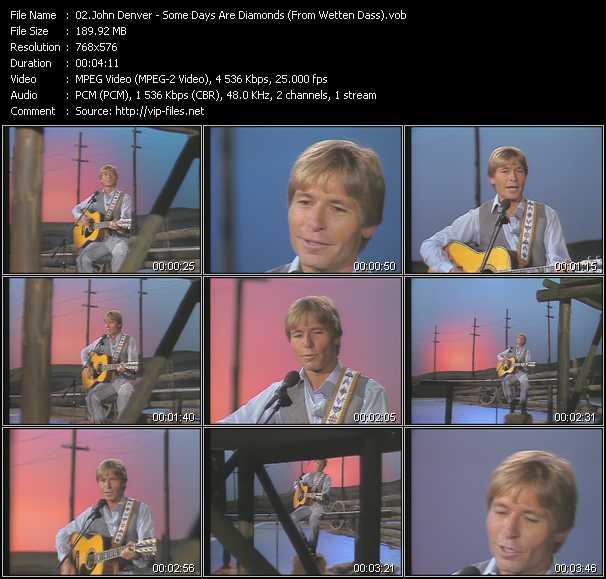 John Denver video screenshot