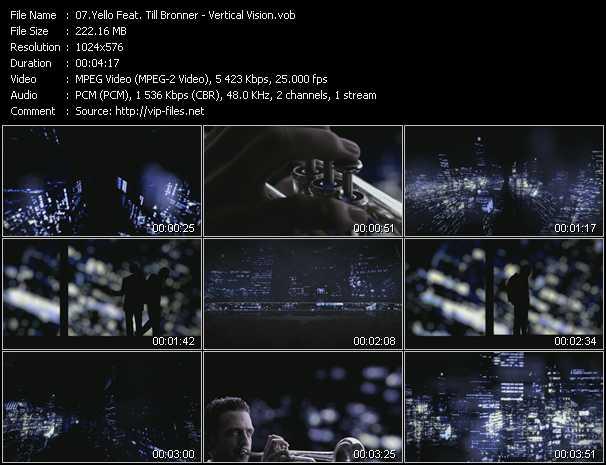 Yello Feat. Till Bronner video screenshot