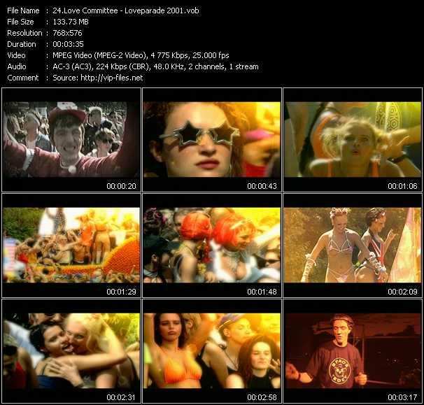 Love Committee video screenshot