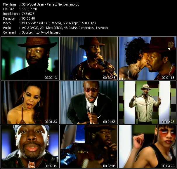 Wyclef Jean video screenshot