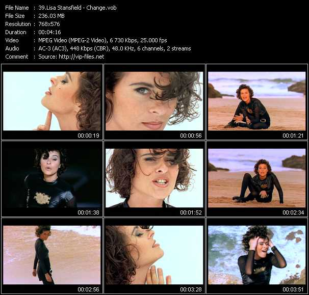 Lisa Stansfield video screenshot