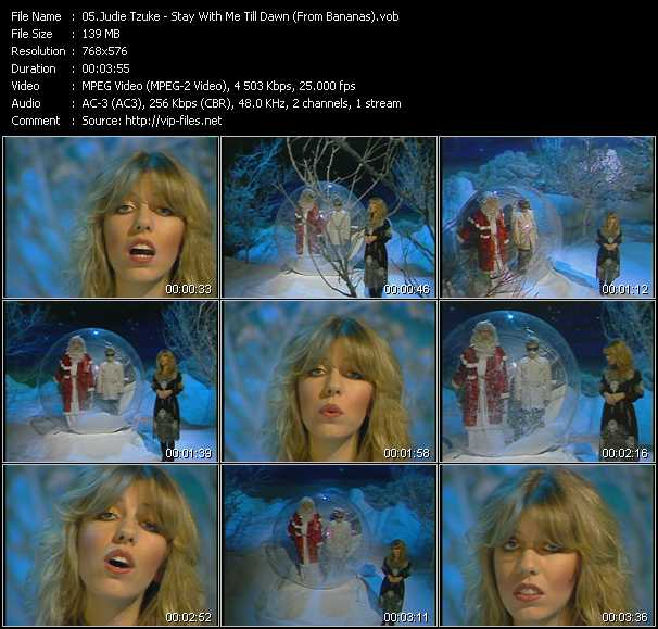 Judie Tzuke video screenshot