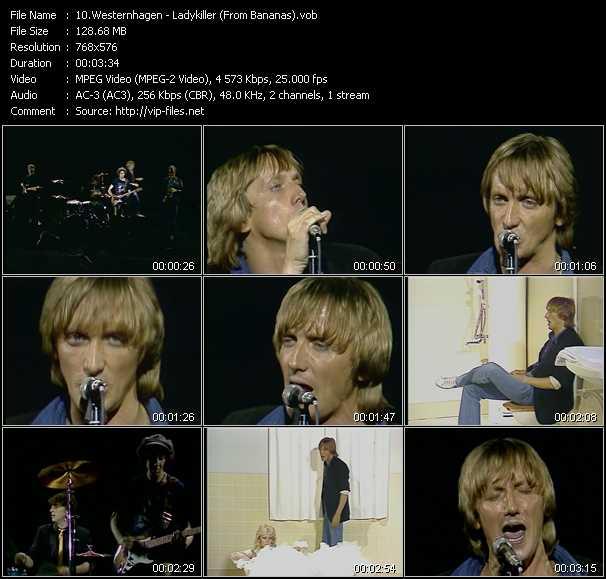 Westernhagen video screenshot