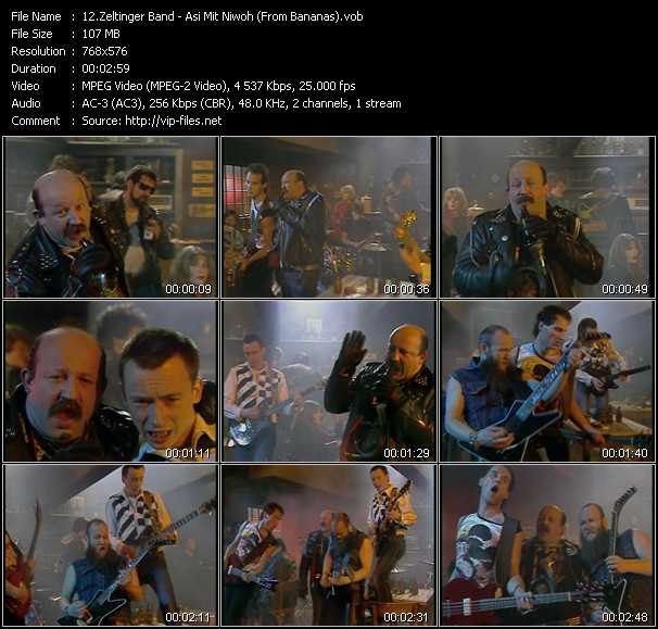 Zeltinger Band video screenshot