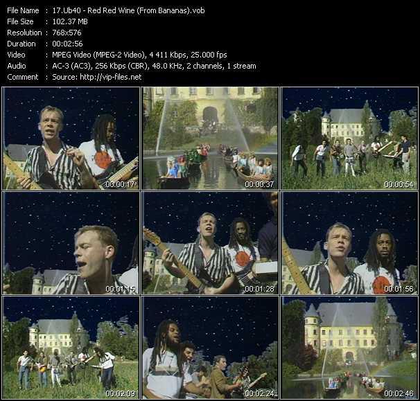 Ub40 video screenshot