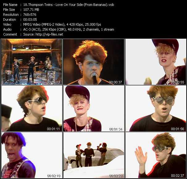 Thompson Twins video screenshot