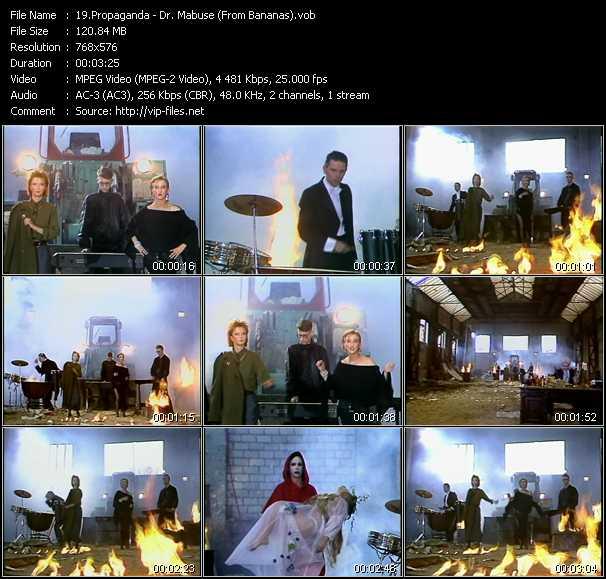 Propaganda video screenshot
