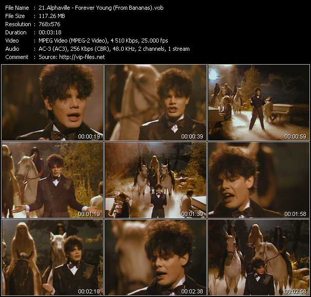 Alphaville video screenshot