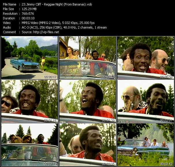 Jimmy Cliff video screenshot