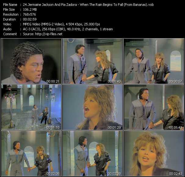 Jermaine Jackson And Pia Zadora video screenshot
