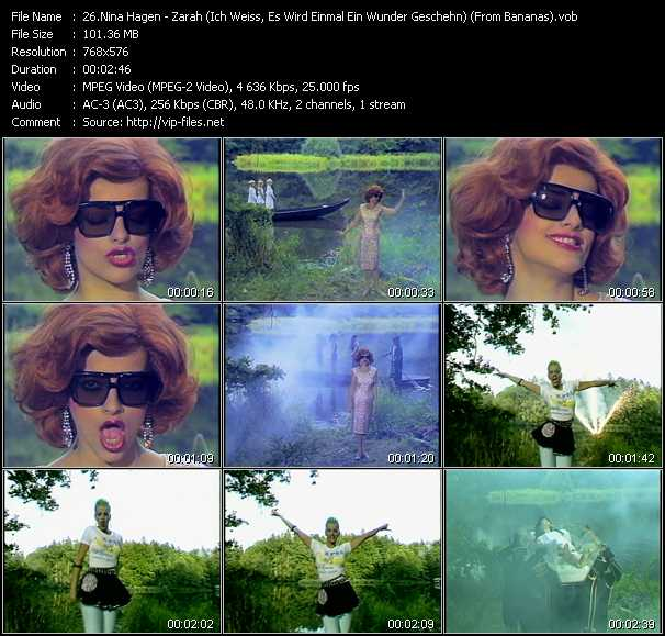 Nina Hagen video screenshot