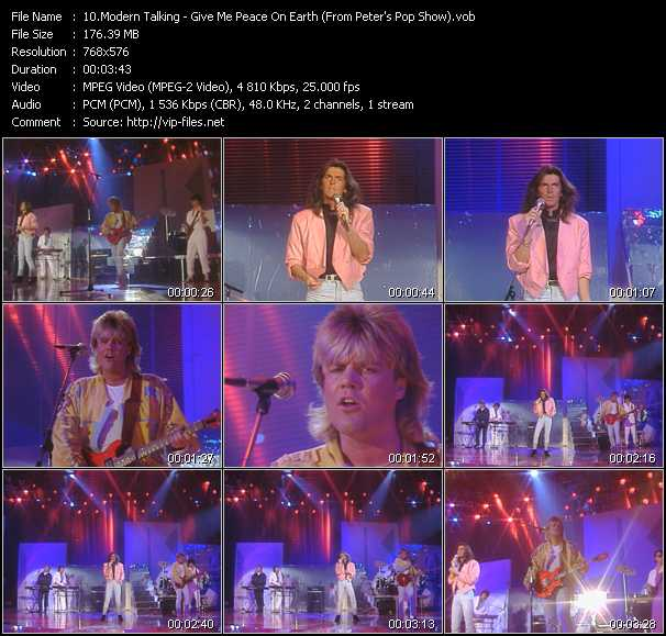 Modern Talking video screenshot