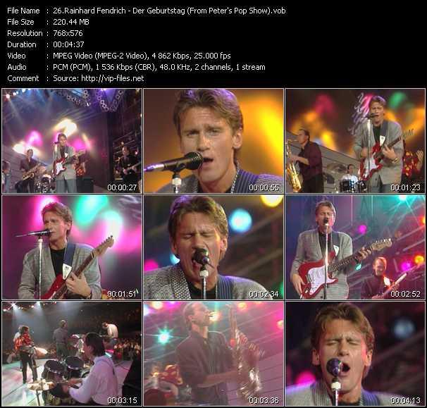 Rainhard Fendrich video screenshot