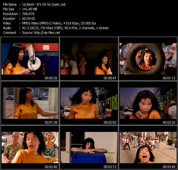 Bjork video screenshot