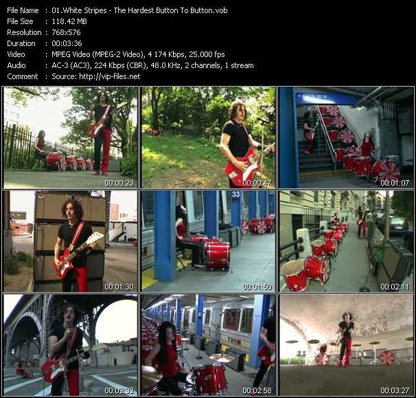 White Stripes video screenshot