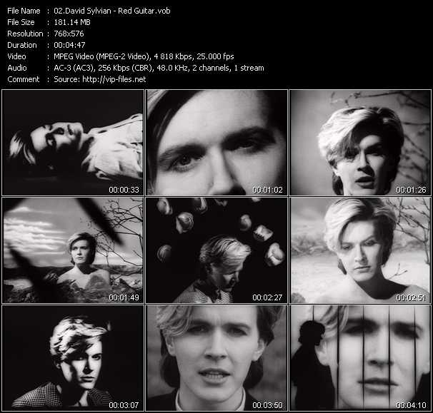 David Sylvian video screenshot