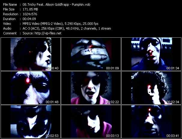 Tricky Feat. Alison Goldfrapp video screenshot