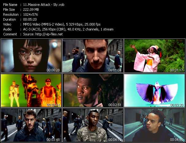 Massive Attack video screenshot
