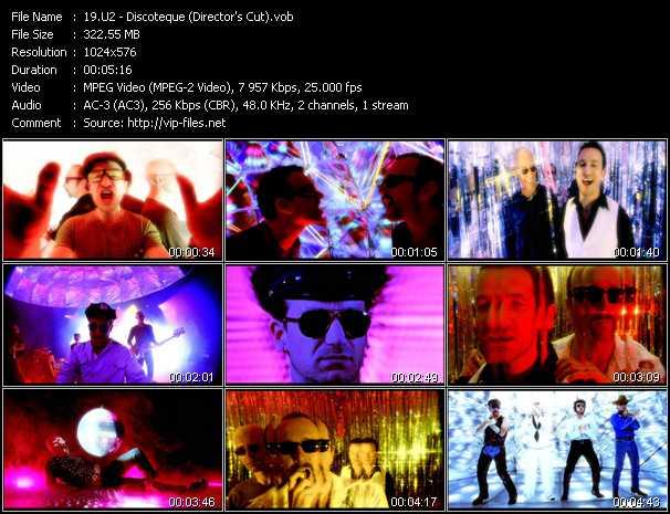video Discoteque (Director's Cut) screen