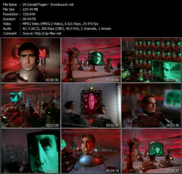 Donald Fagen video screenshot