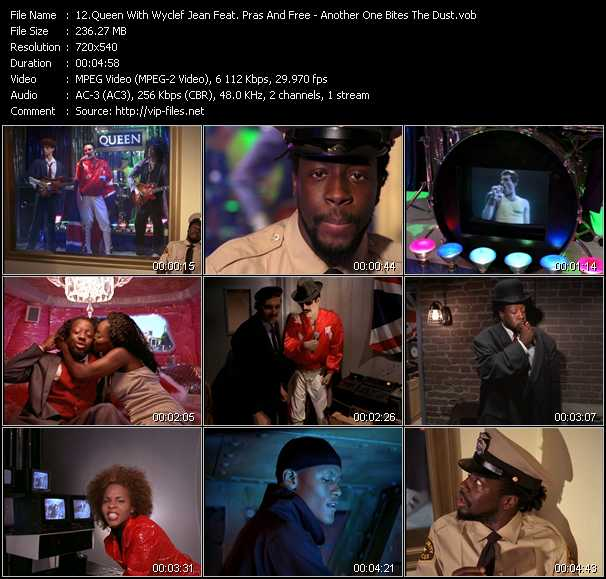 Queen With Wyclef Jean Feat. Pras (Pras Michel) And Free video screenshot
