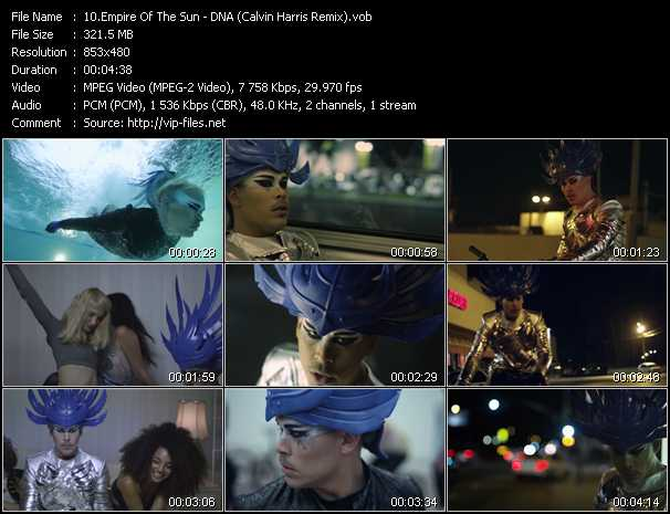 Empire Of The Sun video screenshot