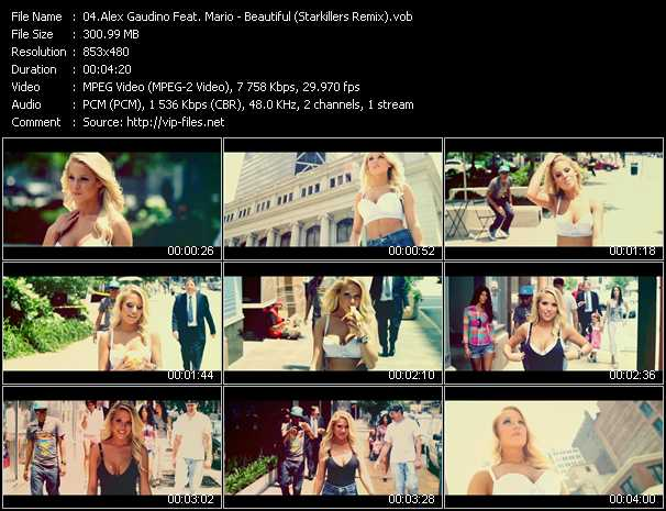 Alex Gaudino Feat. Mario video screenshot